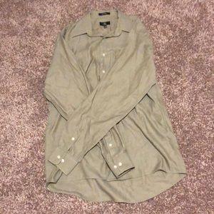 Calvin Klein | Men's | Large | Dress Shirt | Green